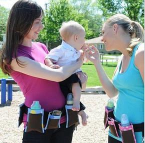 Пояс с карманами для молодых мам Waist Diaper Bag, фото 2