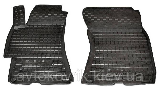 Полиуретановые передние коврики в салон Subaru Outback III (BP) 2004-2009 (AVTO-GUMM)