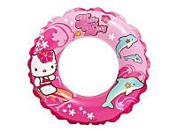 Надувной круг Hello Kitty Intex Интекс 51 см