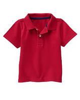 Детская футболка-поло для мальчика Crazy8 (бордовый)