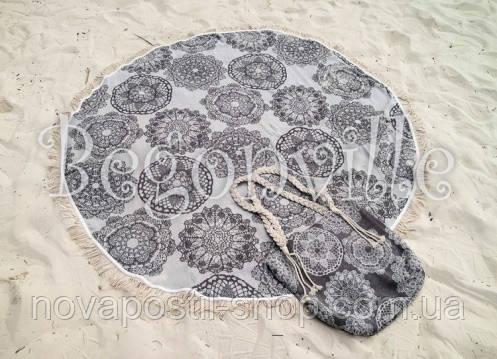Пляжное полотенце BEGONVILLE LACE 4 круглое