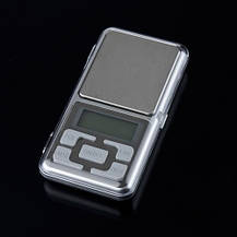 Карманные ювелирные весы 0,1 - 200гр + батарейки., фото 2