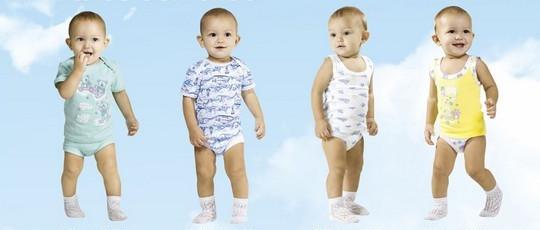 детские комплекты нижнего белья