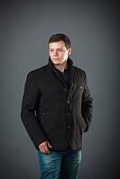 Пальто мужское из кашемира Мон черный