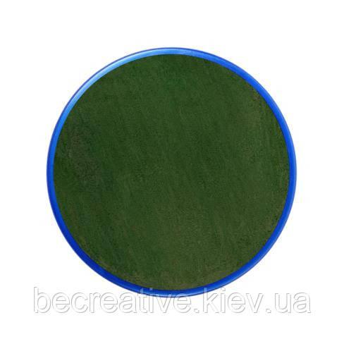 Темно-зеленый аква-грим 18 мл