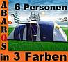 Палатка 6 местная Camping-Zelt Gruppenzelt CLIF-6