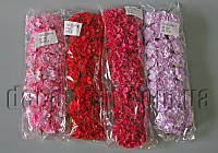 Букет из тканевых цветов с тычинками 3,8 см 6 шт