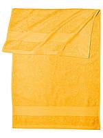 Банное махровое полотенце  (Оранжевый)