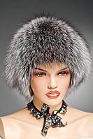 Меховая шапка Стриха (Сноп) из Чернобурки