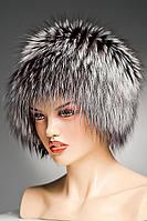 Меховая шапка Кубанка из Чернобурки