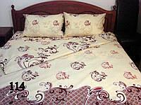 Хлопковое постельное белье (семейный)