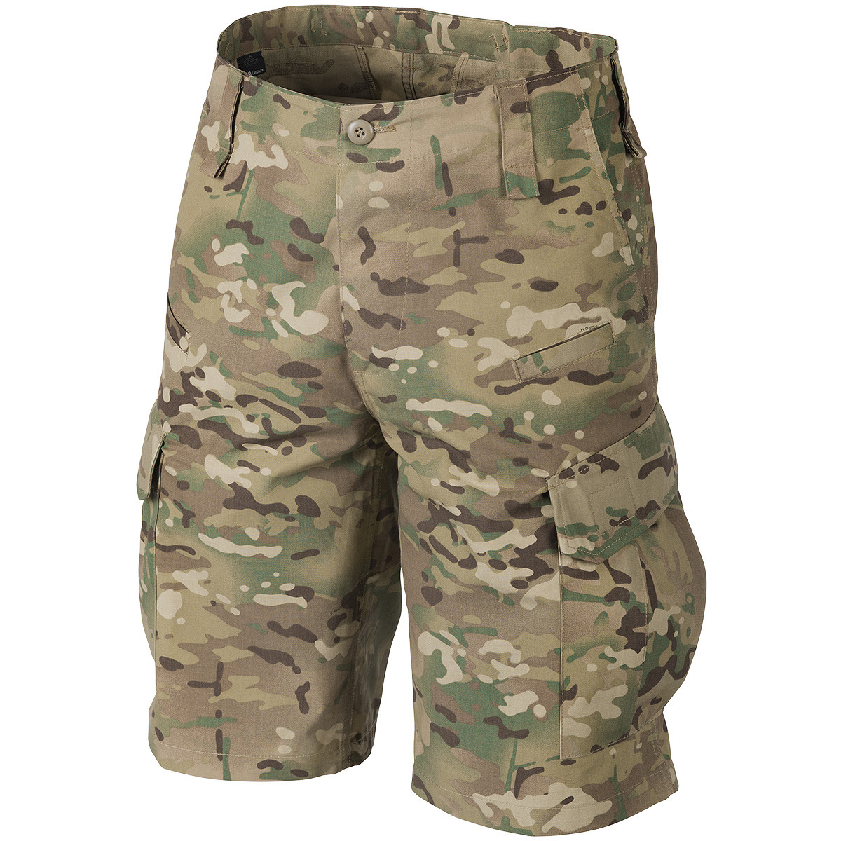 Шорты тактические, британской армии, милитари камуфляж мультикам MTP Combat.