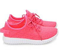 Розовые женские кроссовки модель MINU