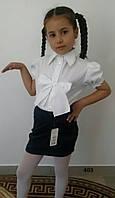 Блузка на девочку школьная 403 (09)