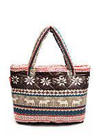Стеганые сумки-дутики с оленями