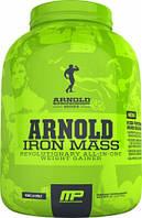 Гейнеры MusclePharm Iron mass arnold series 2270 г  ваниль