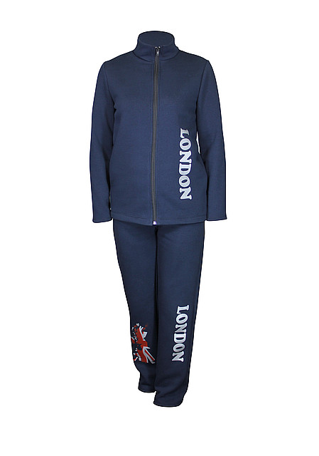 Теплый спортивный костюм на флисе Лондон