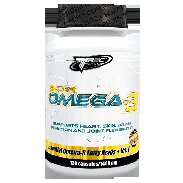 Рыбий жир Trec Nutrition Super omega-3 60 капс