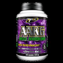 Оксид азота, AAKG Trec Nutrition Aakg mega hardcore 240 капс