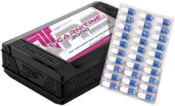 L-карнитин TREC nutrition L-Carnitine 3000  120 caps