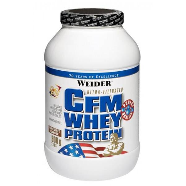 Протеин Сывороточный Weider Cfm whey protein 908 г  нейтральный