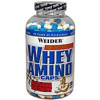 Аминокислотные комплексы Weider Whey amino caps 280 капс