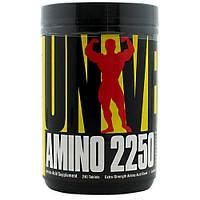 Аминокислотные комплексы Universal Nutrition Amino 2250 240 таб