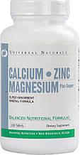 Минеральные комплексы Universal Nutrition Calcium zinc magnesium 100 таб