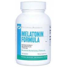 Мелатонин, гормон сна Universal Nutrition Melatonin 5 mg 60 капс
