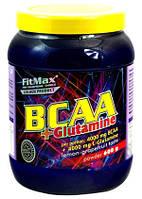 BCAA - Лейцин, Изолейцин, Валин FitMax BCAA+Glutamina, 600g
