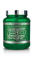 Протеины Изолят Scitec Nutrition Zero sugar/zero fat isogreat 900 g