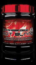 ПРЕДТРЕНИРОВОЧНЫЕ КОМПЛЕКСЫ Scitec Nutrition Hot blood 3.0 300 g