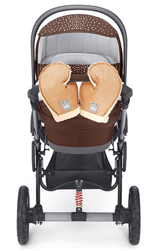 Перчатки для коляски Сam Guanti ART055/B