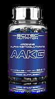 Оксид азота, AAKG Scitec Nutrition Aakg 100 capsules