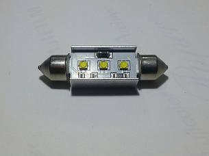 Світлодіодна CANBUS Автолампа з обманкою FT10-41mm-9W (300Lm) CREE LED