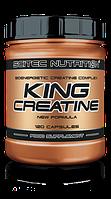 Креатин с транспортной системой Scitec Nutrition King creatine 120 capsules