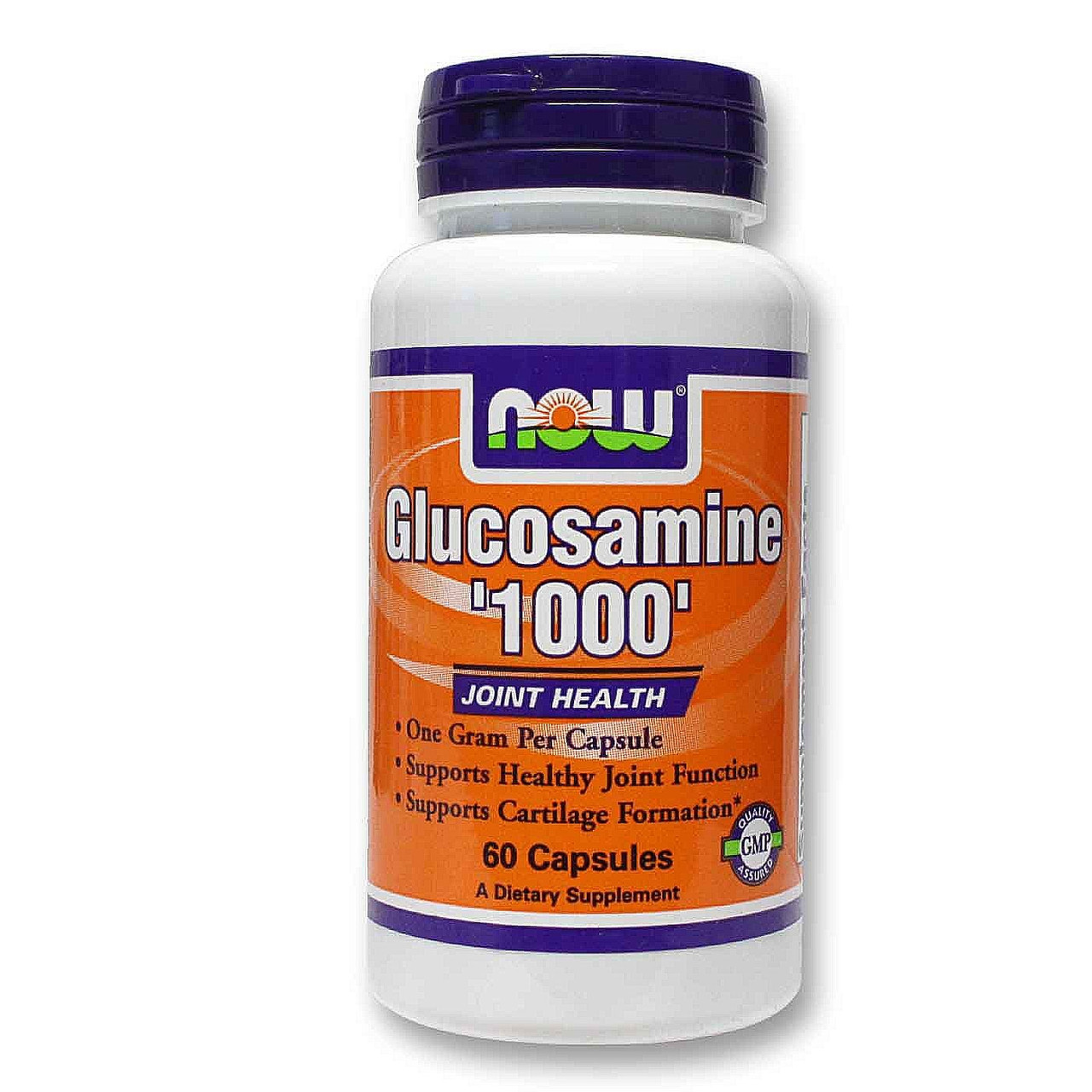 ДЛЯ СУСТАВОВ И СВЯЗОК NOW Glucosamine 1000  60 caps