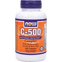 Витамин C NOW C-500  100 tabs