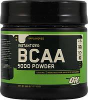 BCAA - Лейцин, Изолейцин, Валин Optimum Nutrition Bcaa 5000 powder 345 г  нейтральный