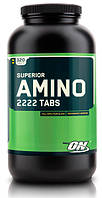 Аминокислотные комплексы Optimum Nutrition Superior amino 2222 320 таб