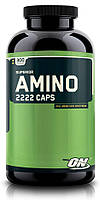Аминокислотные комплексы Optimum Nutrition Superior amino 2222 caps 300 капс