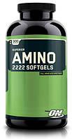 Аминокислотные комплексы Optimum Nutrition Superior amino 2222 softgels 300 капс