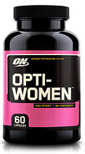 Витамины для Женщин Optimum Nutrition Opti-women 60 капс