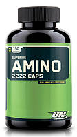 Аминокислотные комплексы Optimum Nutrition Superior amino 2222 caps 150 капс