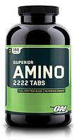 Аминокислотные комплексы Optimum Nutrition Superior amino 2222 160 таб
