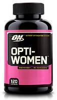 Витамины для Женщин Optimum Nutrition Opti-women 120 капс