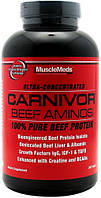 Аминокислотные комплексы MuscleMeds Carnivor beef aminos 300 таб