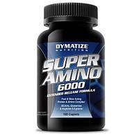 Аминокислотные комплексы Dymatize Super amino 6000 180 таб