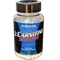Карнитин, L-карнитин, L-Carnitine Dymatize L-carnitine xtreme 60 капс