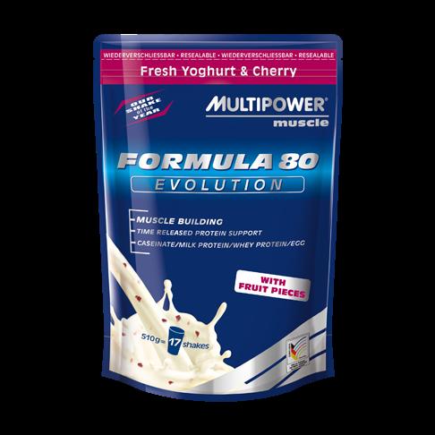 Протеины Многокомпонентные Multipower Formula 80 evolution 510 г